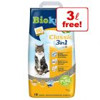 18l Biokat's Classic / Classic Fresh 3in1 Cat Litter - 15l + 3l Free!*